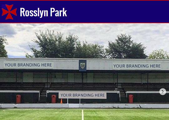 RPFC Stand Sponsorship 2020/21