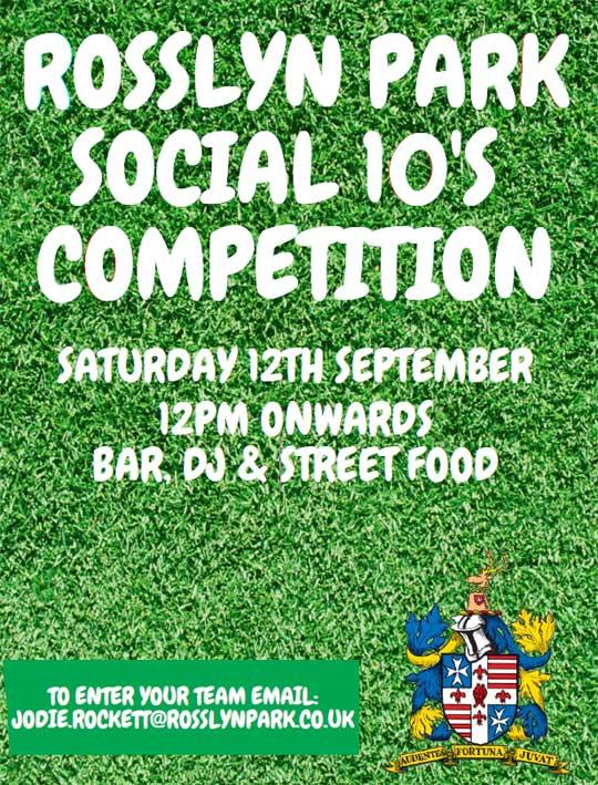 RPFC Social 10s Tournament