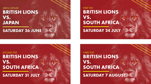 Book your tickets for The British & Irish Lions in South Africa 2021
