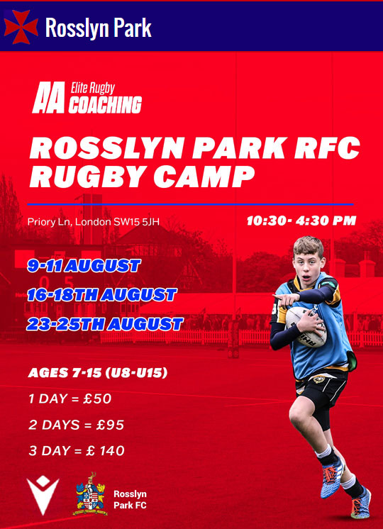 Mini & Youth Summer Rugby Camps @ The Rock   9-11 Aug   16-18 Aug   23-25 Aug 2021
